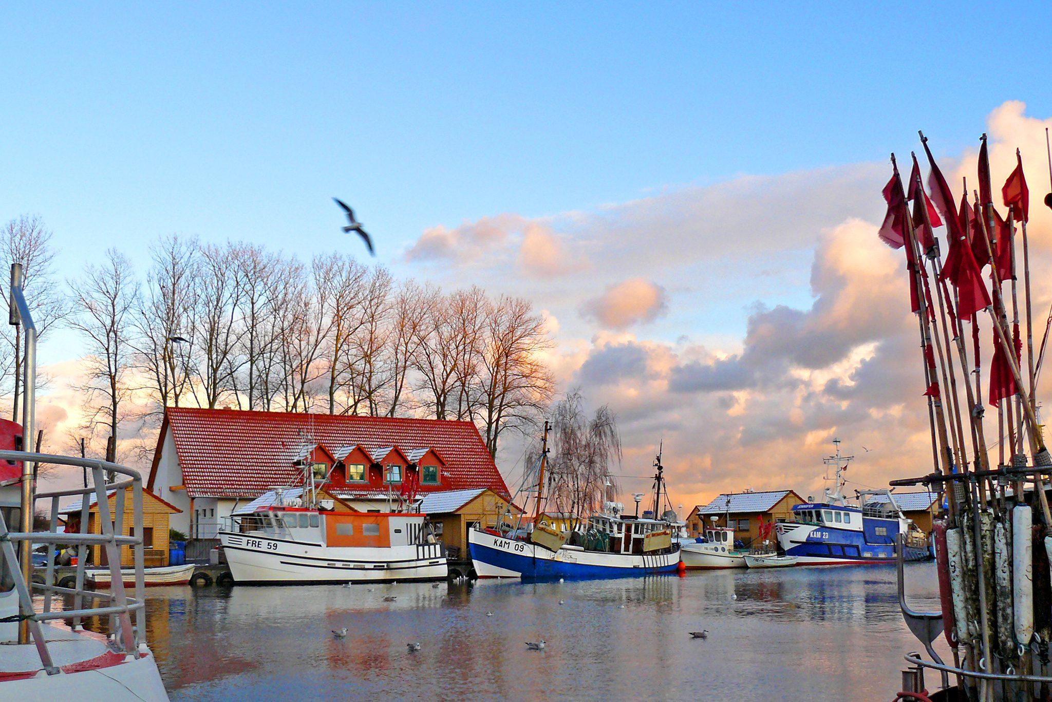 Hafen in Freest
